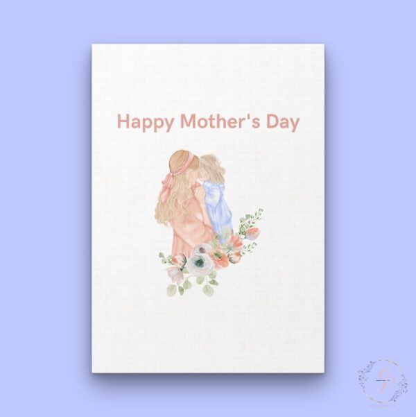 Happy Mother's Day-Mother & Daughter