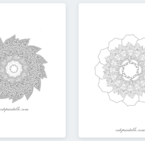 Free Mandala Coloring Book