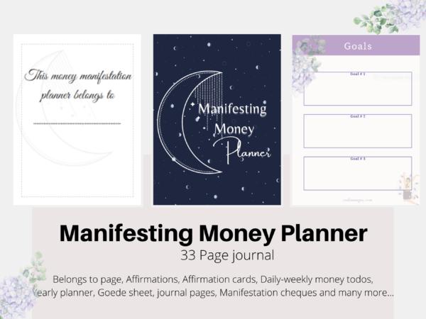 Manifesting Money 33 page Journal