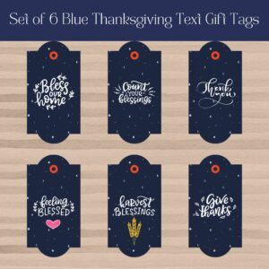 Thanksgiving Text Tags