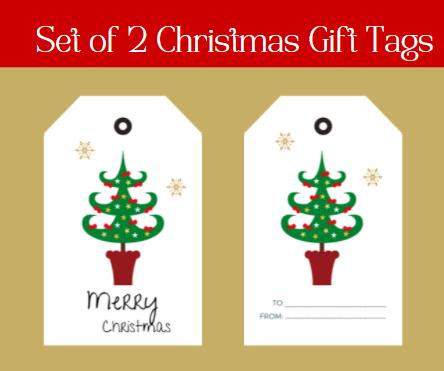 Set of 2 Christmas Gift Tags-6